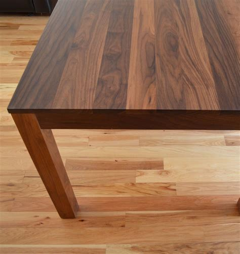Dining Room Farm Tables custom made solid walnut dining table by fabitecture