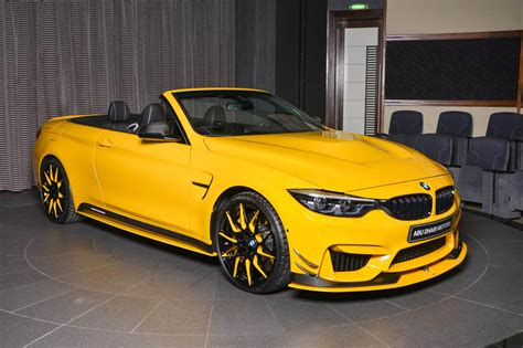 M4 Bmw Convertible by Yellow M4 Convertible By Ac Schnitzer Bmw Car Tuning