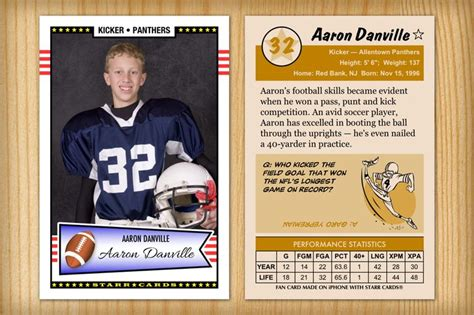 Pin By Custom Sports Cards On High School Football