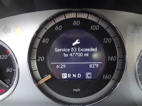 Mercedes A Service by How To Turn Service Exceeded Message Mercedes C300