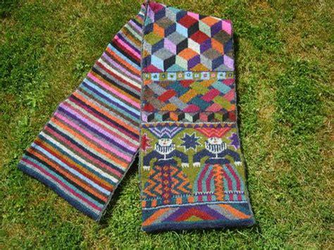 kaffe fasset knitting foolish virgins scarf by kaffe fassett knitting