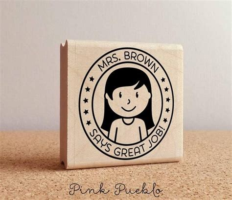 personalized rubber sts for teachers 66 best images about st on teaching