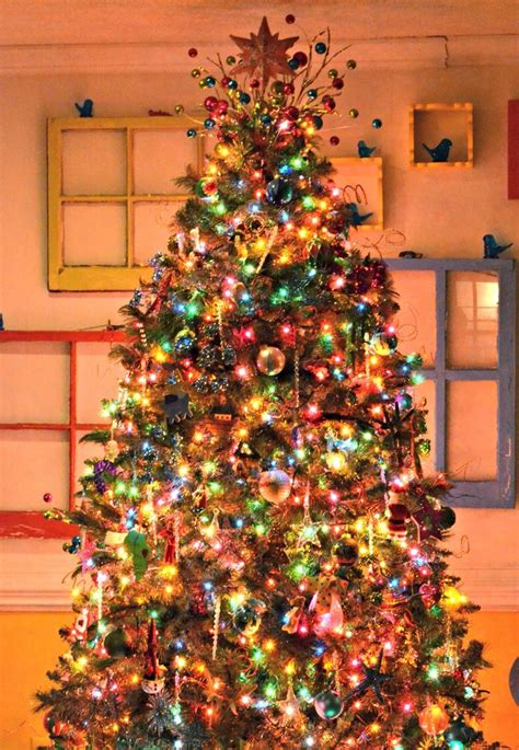 trees with lights and decorations 17 best ideas about colorful tree on