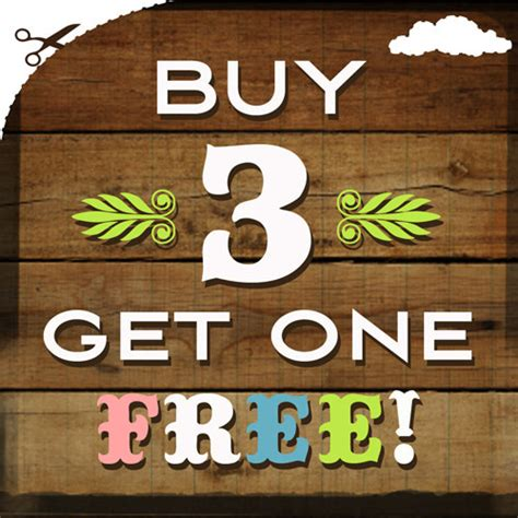 one free buy 3 get 1 free 3 days left to save pdresources