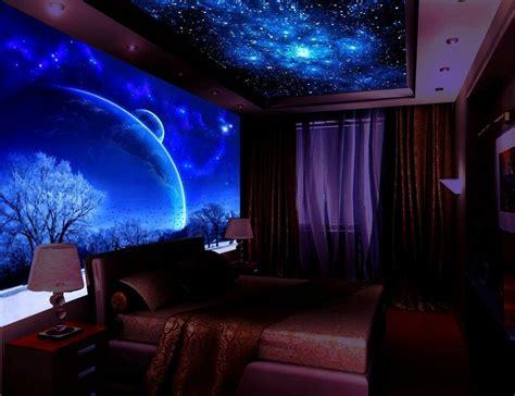 glow in the paint bedroom ideas schwarzlicht farbe 16 eindrucksvolle designs f 252 r wand
