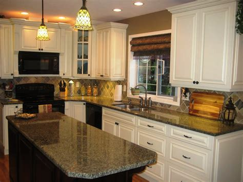 Colors For Kitchen Walls With Oak Cabinets cream colored kitchen cabinets tjihome