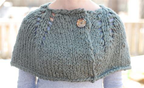 capelet knitting patterns lansing designs