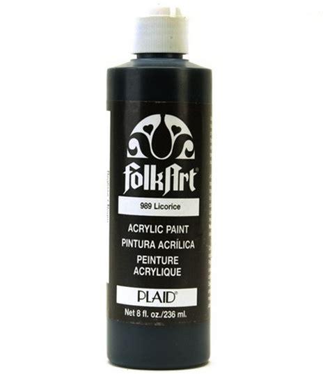 folk acrylic paint on leather folkart 174 acrylic paint black licorice jo