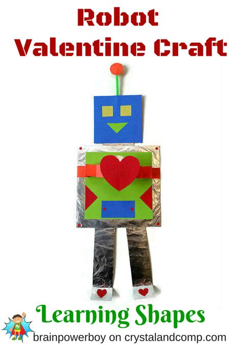 robot craft for robot kid craft