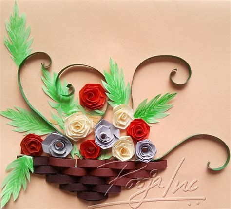 paper and craft paper quilling pooja inc