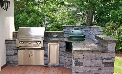 design an outdoor kitchen outdoor kitchen photos custom kitchens big green egg
