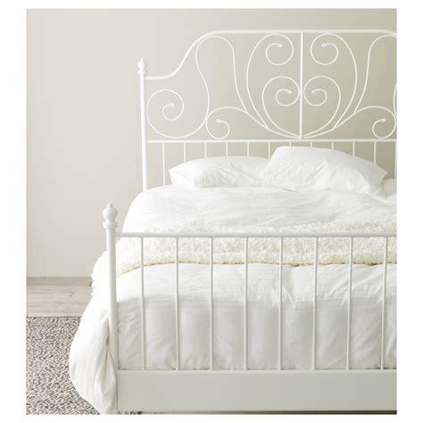 beds ikea leirvik bed frame white leirsund 140x200 cm ikea