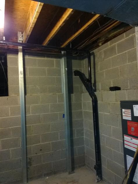 quality basement systems quality 1st basement systems foundation repair before