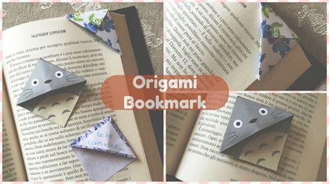 origami bookmark tutorial origami bookmark diy segnalibro chibiistheway