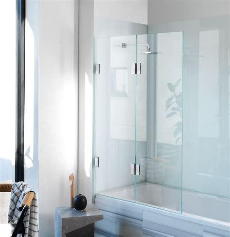 bi fold shower screens bath diptych bi fold bath screen frameless glass shower