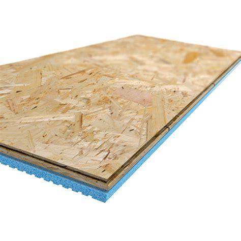 panneaux de sous plancher isolant insulfloorboard r3 15 1 2 po x 47 1 2 po x 1 po bo 238 te de 4