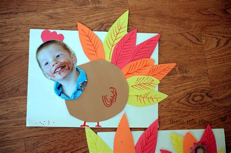 kindergarten paper crafts 5 easy turkey crafts for bless this mess