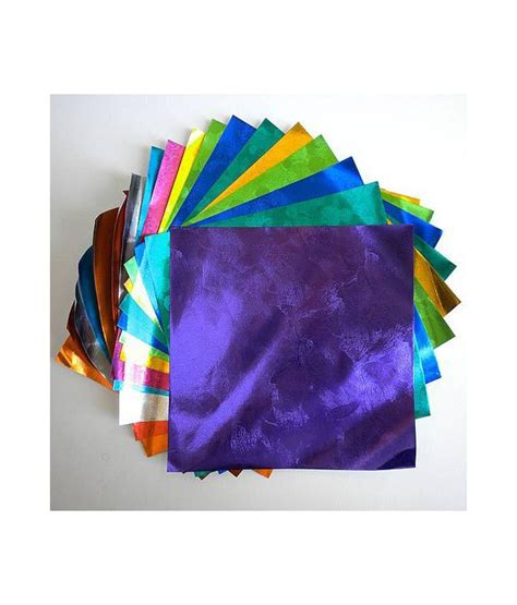 aitoh origami paper aitoh embossed color foil origami paper buy at