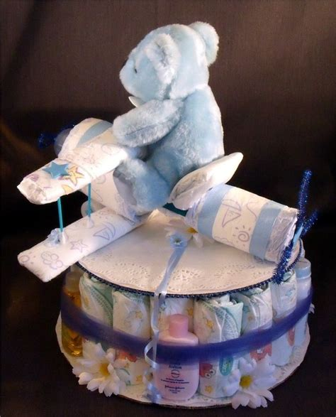 how to make cake centerpieces cakes for boys blue airplane baby shower gift boy