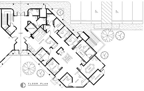 building floor plan sle floor plan of commercial building
