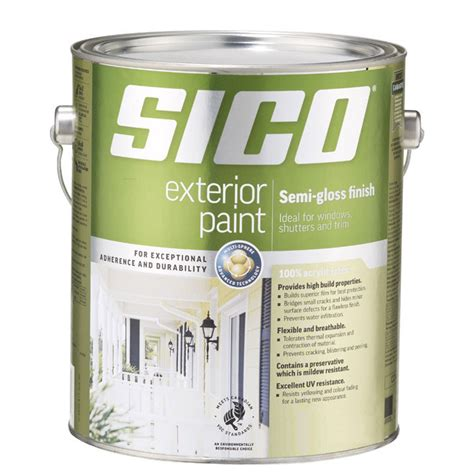 acrylic paint on rubber paint quot supreme quot exterior acrylic rona