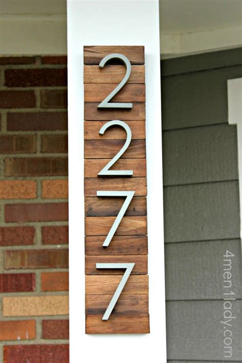 home depot paint number new house numbers project and a giveaway
