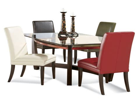 glass dining room table sets dining sets for small areas rectangular glass dining room