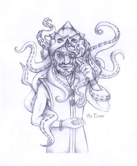 how to draw occult and horror occult monocle drawing challenge by tzenor on deviantart