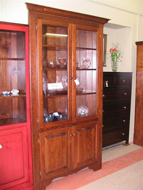 corner kitchen hutch furniture oak corner china cabinet woodworking projects plans