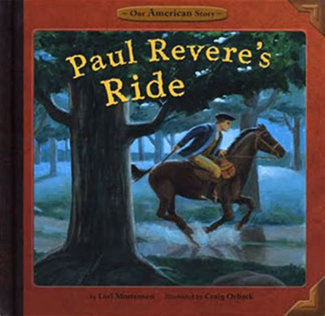 a picture book of paul revere craig orback illustration