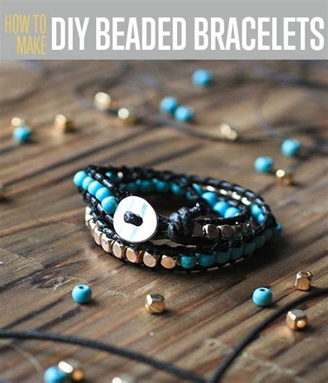 bead bracelets diy make a beaded bracelet diy projects craft ideas how to s