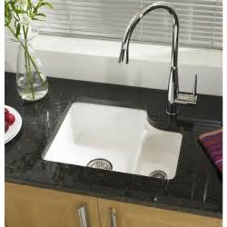 white porcelain kitchen sinks undermount white ceramic single undermount kitchen sinks on granite