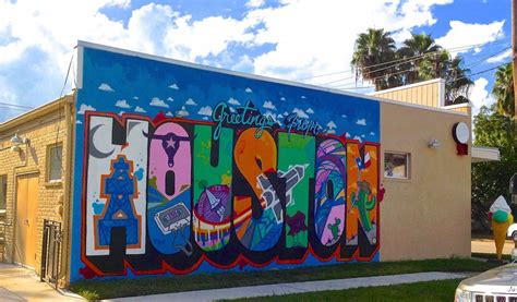 wall murals houston greetings from houston mural location 365 houston