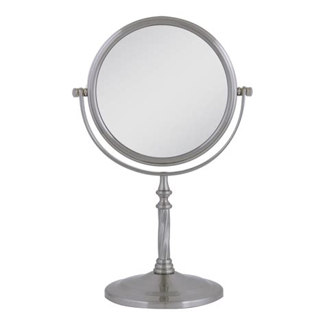 swivel bathroom mirrors satin nickel mirror swivel vanity mirror interior