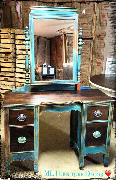 chalk paint jefferson city mo antique vanity refinishing a 35 garage sale find