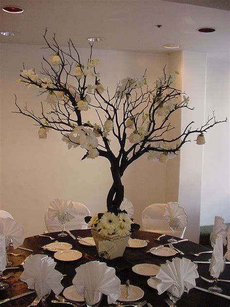 tree table decorations style trend manzanita branches wishing trees the 530