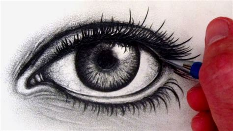 how to draw a eye how to draw a realistic eye