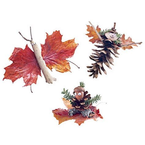 autumn crafts fall decor crafts easy fall leaf projects