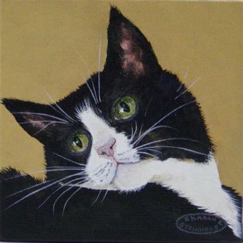 black cat painting step by step black cat paintings steinhaus topaz