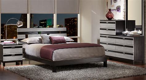 brown bedroom furniture sets gardenia silver 5 pc king platform bedroom king bedroom