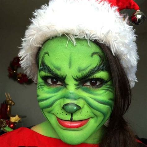 grinch up make up grinch and make up ideen on