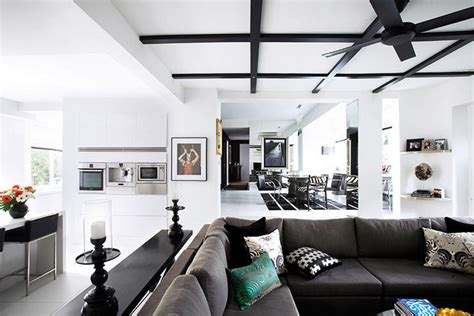 Design Ideas For Galley Kitchens house tour this stunning home was created with only black