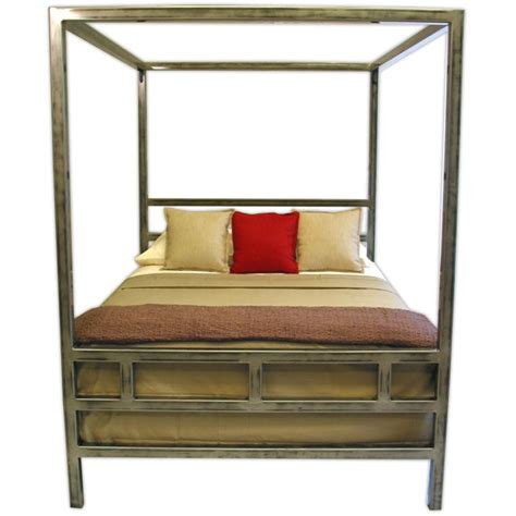 bed steel frame canopy steel bed frame boltz steel furniture