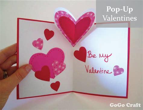 make a valentines card valentines pop up card 4 creativebug