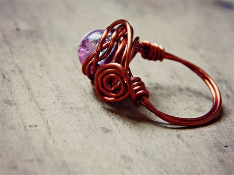 how to make rings out of wire and wire wrap rings 183 how to make a wire wrapped ring