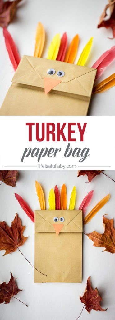 thanksgiving paper bag crafts paper bag turkey craft the best ideas for