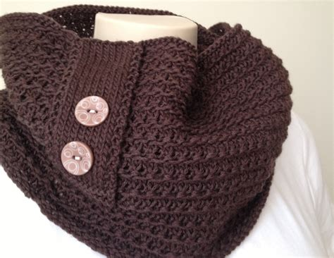 knitted cowl patterns new knitting pattern cowl chocolate cowl deux brins de
