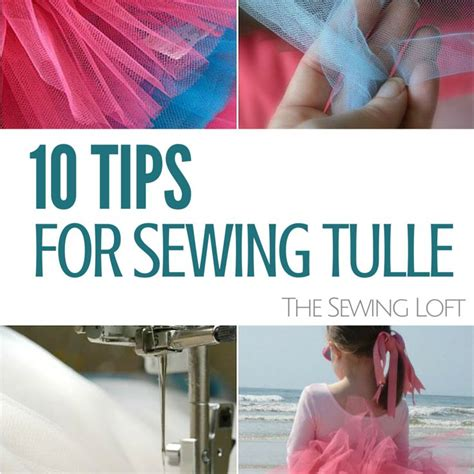 how to sew on tulle sewing with tulle easy tips the sewing loft