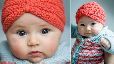 how to knit a turban hat tobecontinued free pattern crochet baby turban