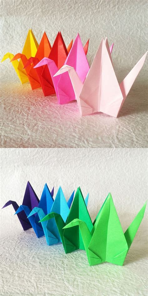 special origami top 25 ideas about origami cranes senbazuru on
